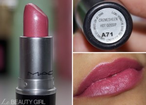 MAC Lipstick collection 7