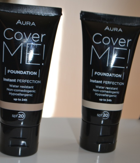 Aura Cover Me Foundation